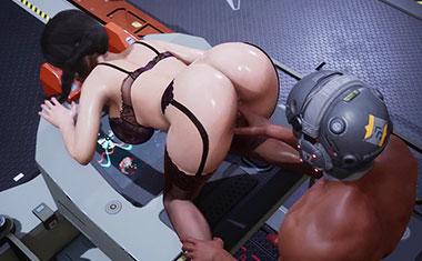 堕落的女秘书被机器人被舔虐待性交